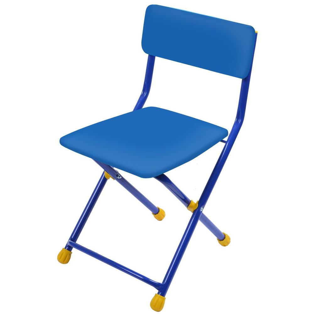 Купить НИКА Стул детский складной мягкий моющийся СИНИЙ [СТУЗ], Nika kids, Детские стулья и табуреты