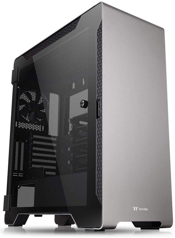 Корпус Thermaltake A500 Aluminum TG Edition Black (CA-1L3-00M9WN-00) фото
