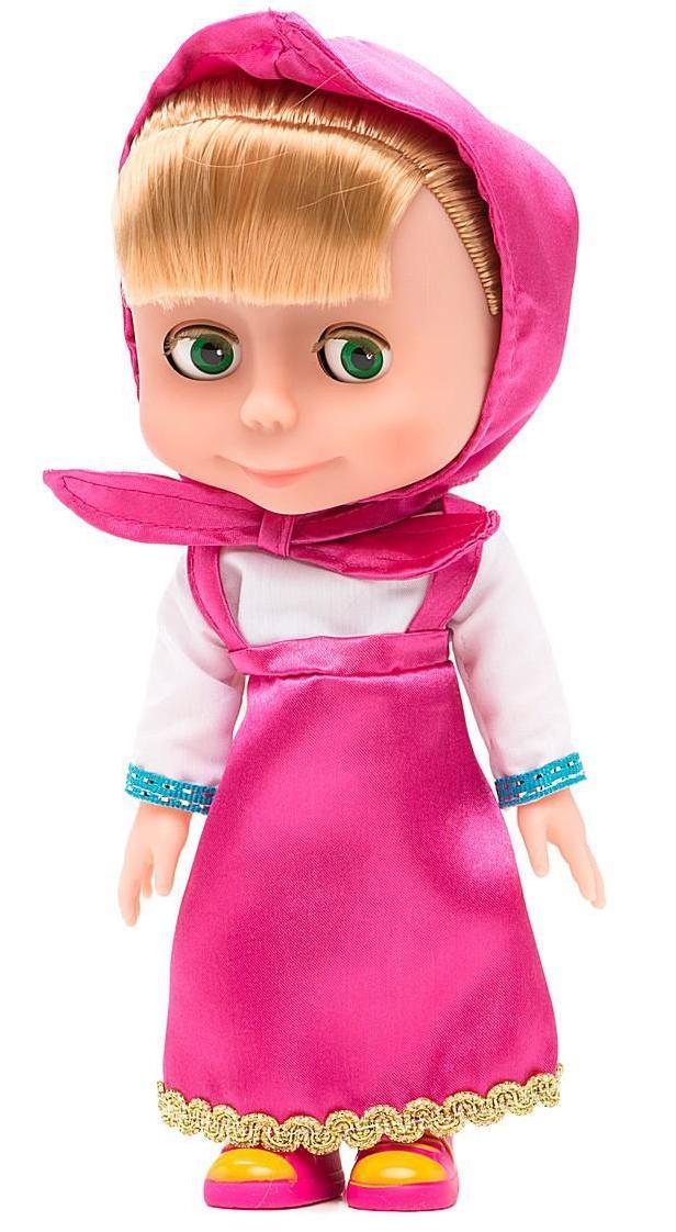 Купить КАРАПУЗ Кукла озвученная Маша, 15 см [83032X], Куклы и пупсы