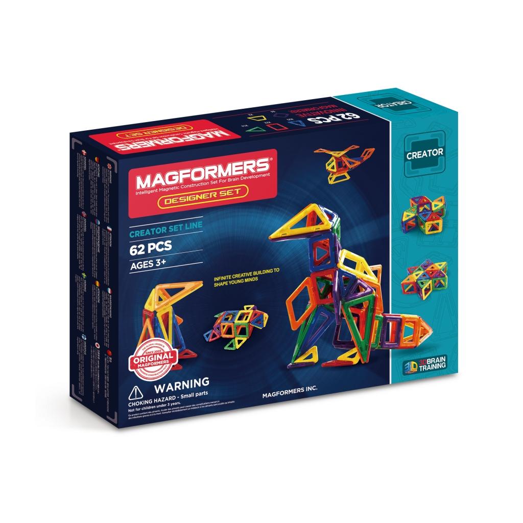 Купить Магнитный конструктор MAGFORMERS 703002 (63081) Дизайнер сет, пластик, магнит, Для мальчиков и девочек, Китай, Конструкторы