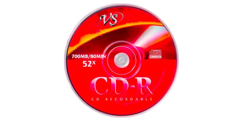 Диски VS CD-R 80 52x Shrink/25 VSCDRSH2501