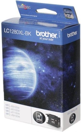 Купить Струйный картридж Brother LC1280 XLBK Black, Black (Черный), Китай