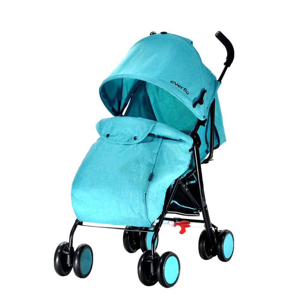 Купить УТ000000311, EVERFLO Коляска трость Voyage E-850a Blue [E-850A Voyage], Детские коляски