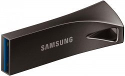 Флешка 256 Гб Samsung BAR Plus (MUF-256BE4/APC) USB 3.1 Type A, черная