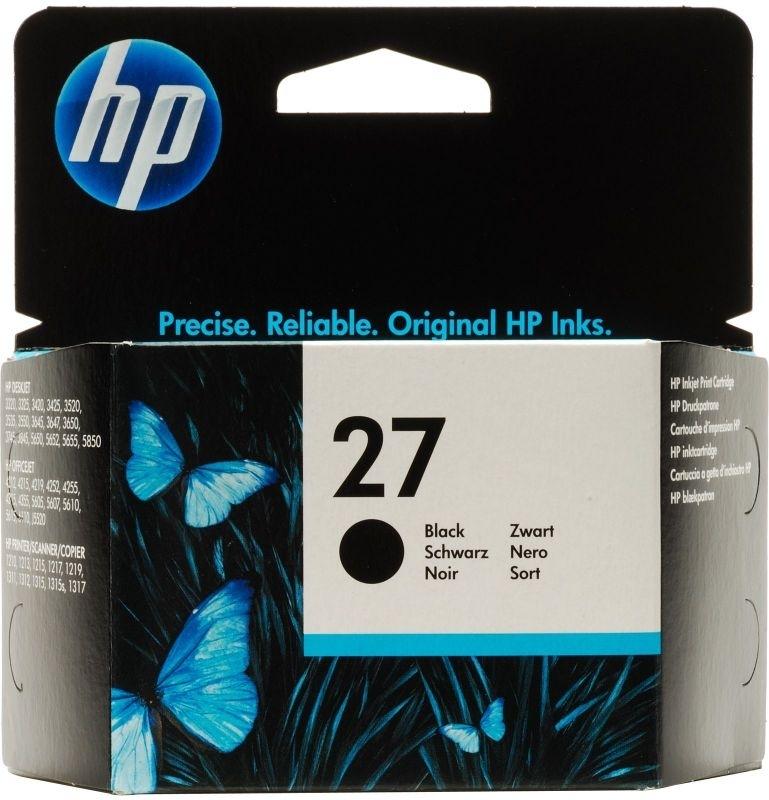 Купить Струйный картридж HP 27 Black (C8727AE), Black (Черный), Китай