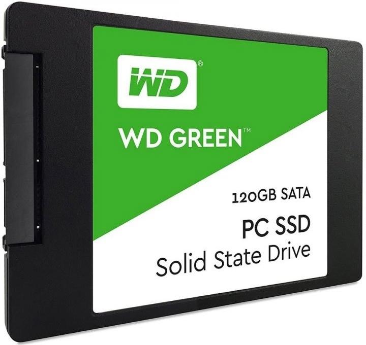 Накопитель SSD 120 Гб Western Digital Green (WDS120G2G0A) SATA 2.5