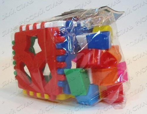 Купить П-0322, NINA Логич.куб Нина [N-00032], Сортеры для малышей