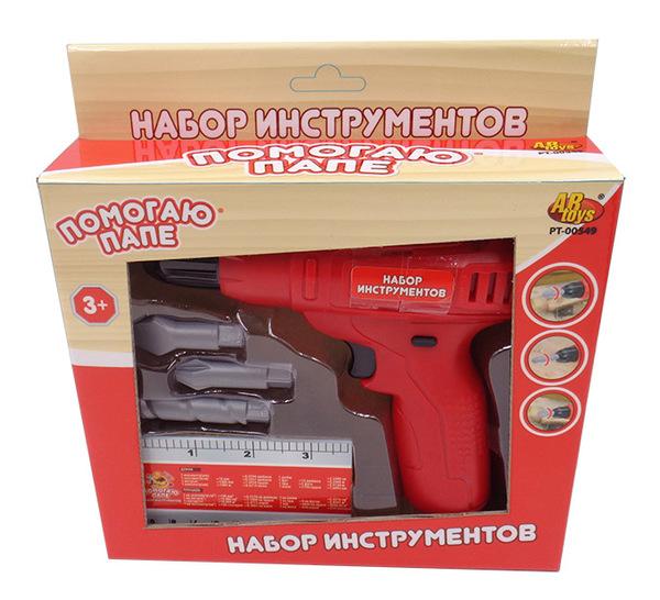 Купить ABTOYS Набор инструментов (5 предметов) [PT-00549(WK-B7957)], пластмасса, Детские наборы инструментов