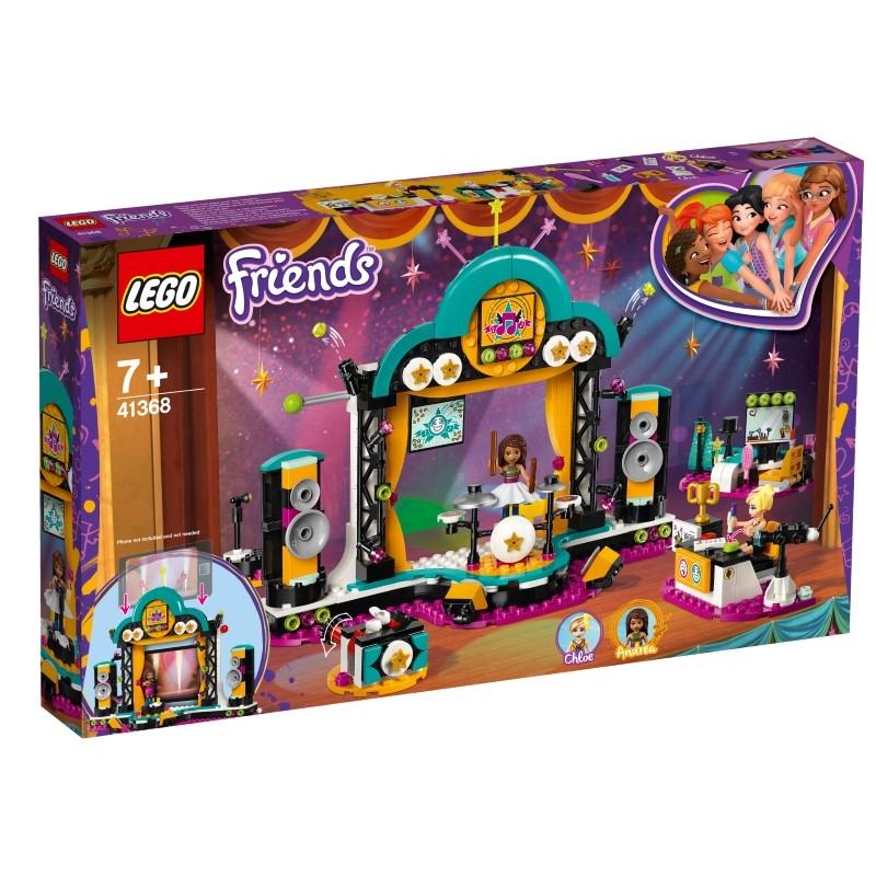 Купить Конструктор LEGO FRIENDS Шоу талантов [41368-L], 280x480x60 мм, Конструкторы