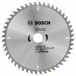 Пильный диск Bosch Eco Wood 2608644382 (230x30мм; 48)