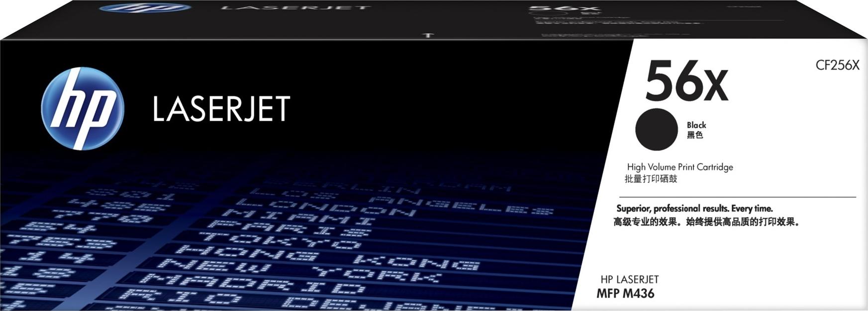 Купить Лазерный картридж HP 56X (CF256X) Black, 56X Black, Black (Черный), Китай