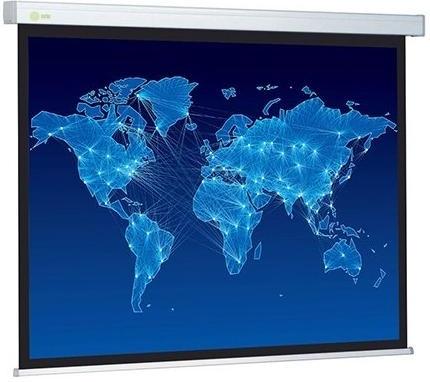 Картинка для Экран Cactus 150x150см Wallscreen CS-PSW-150x150 1:1 настенно-потолочный рулонный белый