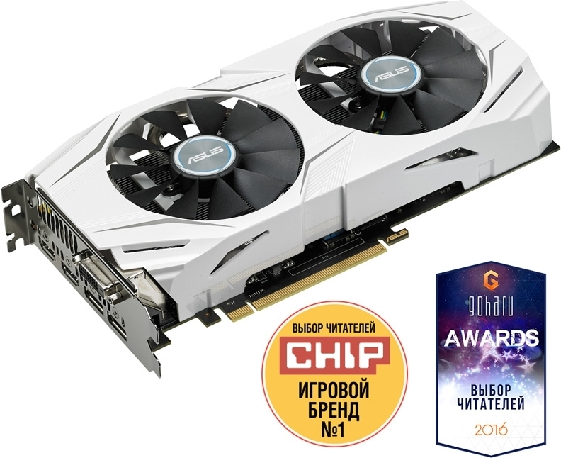 Купить Видеокарта Asus PCI-Ex GeForce GTX 1060 Dual 3GB GDDR5 (192bit) (1569/8008) (DVI, 2 x HDMI, 2 x DisplayPort) (DUAL-GTX1060-O3G), NVIDIA GeForce GTX 1060, Китай