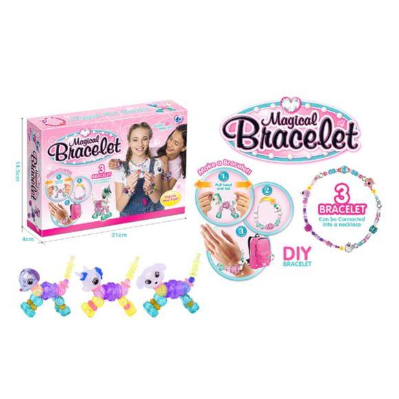 Купить НАША ИГРУШКА Набор волшебных браслетов Магия-1 [550A], мультицвет, пластмасса, Играем в салон красоты