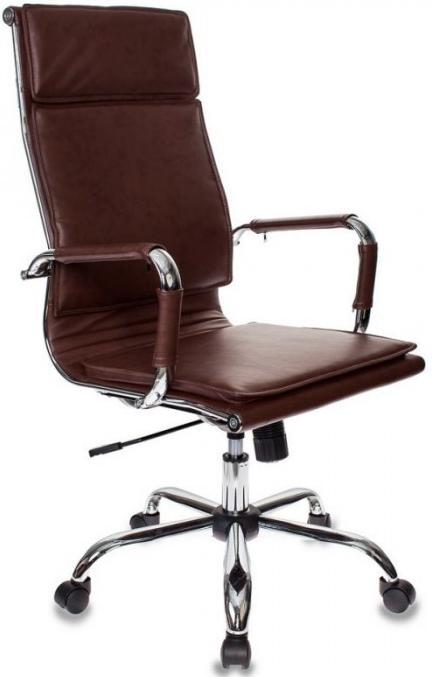 Картинка для Кресло руководителя Бюрократ CH-993/BROWN коричневое