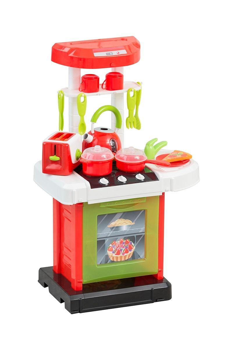 Игровой набор SMART 1684468.00 Кухня с чайником и тостером, пластмасса, Металл, Детские кухни и бытовая техника  - купить со скидкой