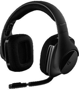 Купить Гарнитура Logitech G533 Wireless, Черный, Китай