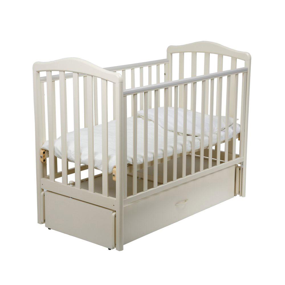 12347447, PAPALONI Кроватка Винни маятник слоновая кость, Кроватки детские  - купить со скидкой