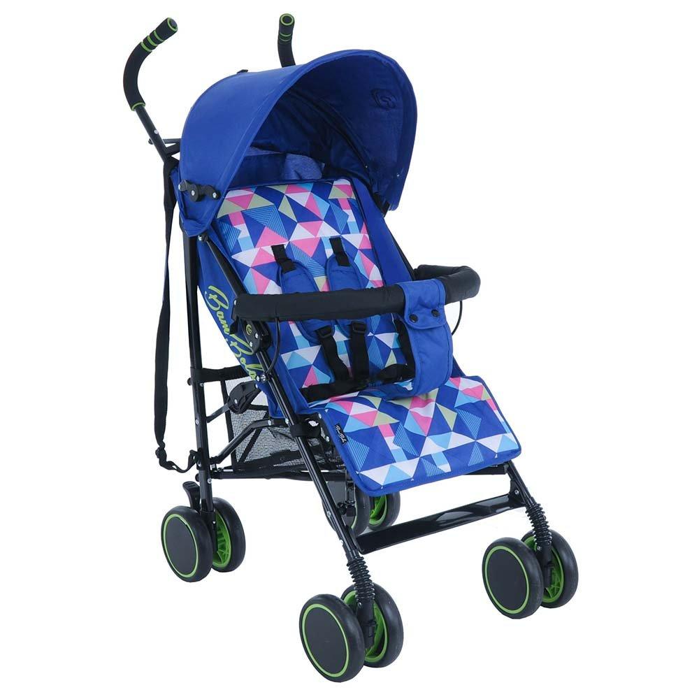 Купить НР-313, BAMBOLA Коляска трость PALLINO ИНДИГО BLUE (разъемный бампер, чехол на ножки), Китай, Детские коляски