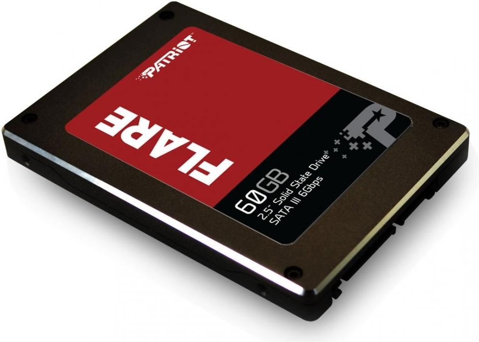 Твердотельный накопитель 60Gb SSD Patriot Flare ( Patriot Memory PFL60GS25SSDR