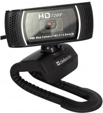 Веб-камера Defender G-lens 2597 HD720p Black 63197