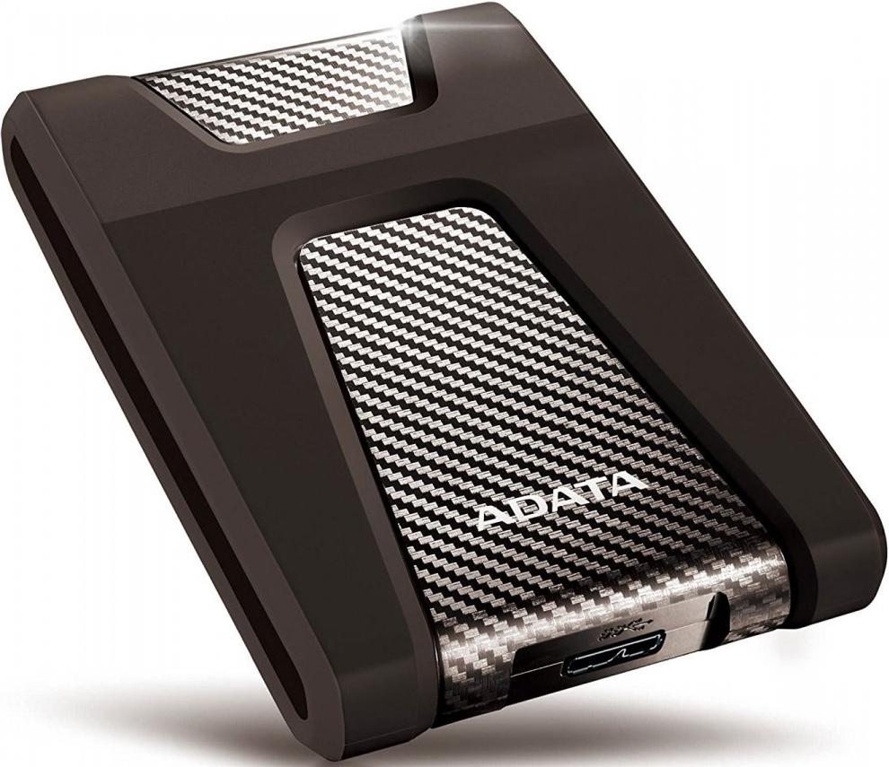 Внешний жесткий диск 4 Тб A-DATA HD650 (AHD650-4TU31-CBK) USB Type-C, черный фото