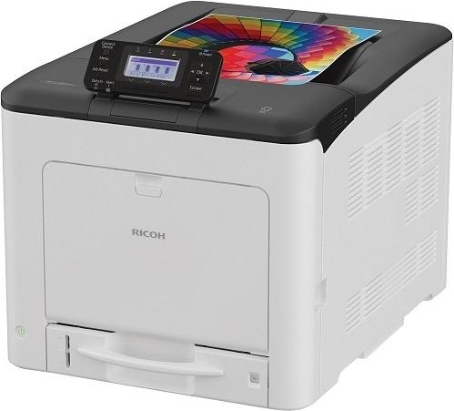 Цветной светодиодный принтер Ricoh SP C360DNw фото
