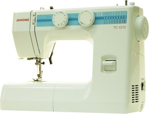 Швейная машина Janome TC 1212, Швеция  - купить со скидкой