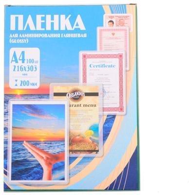 Купить Пленка для ламинирования 54х86 (125 мик) 100 шт Office Kit (PLP10602), Китай