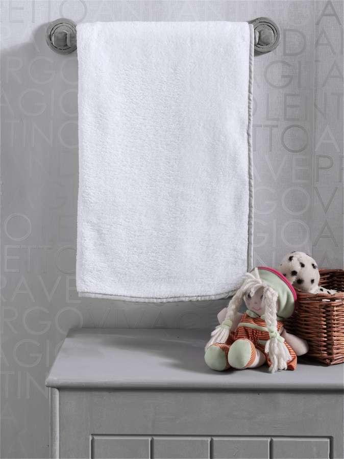 Купить KIDBOO Плед Blossom Linen флисовый (цвет: белый) [00-0012017], Белый, Для мальчиков и девочек, Покрывала, подушки, одеяла для малышей