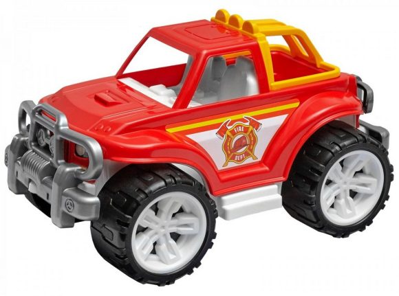 Купить ТЕХНОК Машина Внедорожник Пожарная [3541], пластик, Украина, Игрушечные машинки и техника