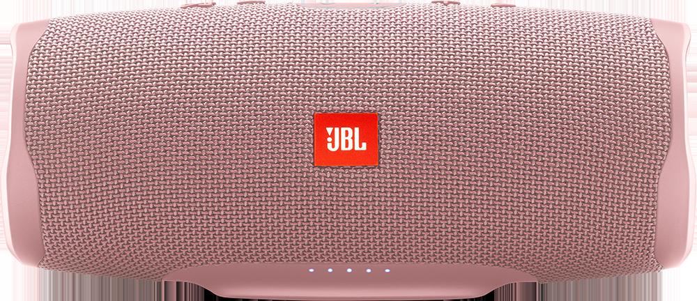 Купить Портативная акустика JBL Charge 4 розовый + Гарнитура JBL T110BT в  подарок! по цене 7