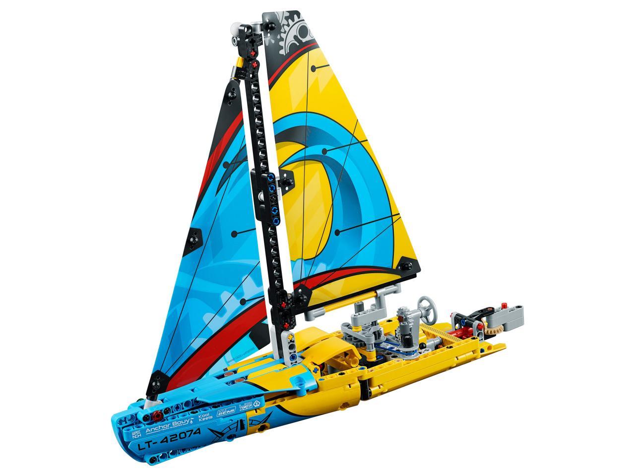 Купить Конструктор LEGO 42074 Technic Гоночная яхта, пластик, Для мальчиков и девочек, Дания, Конструкторы