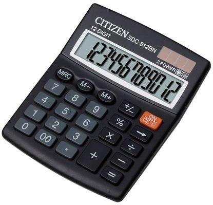 Калькулятор бухгалтерский Citizen SDC-812BN