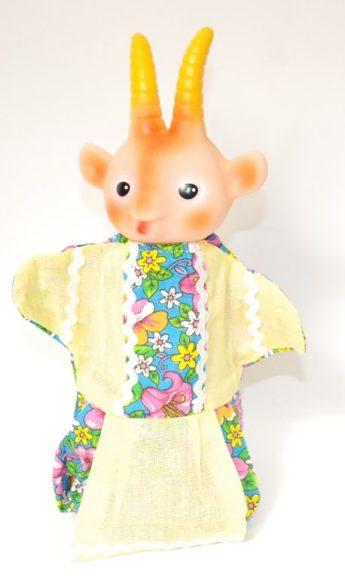 Купить РУССКИЙ СТИЛЬ Кукла-перчатка Коза [11024], Россия, Кукольный театр