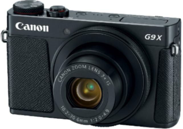 Купить Цифровой фотоаппарат Canon PowerShot G9 X Mark II черный, Черный, Китай