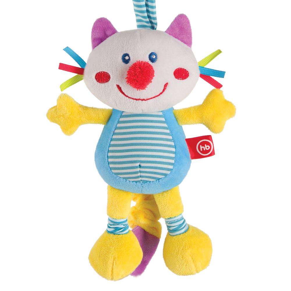 Купить Подвеска HAPPY BABY 330360 FRISKY KITTY, Хлопок, Этиленвинилацетат, полиэстер, синтетические волокна, Подвески для малышей