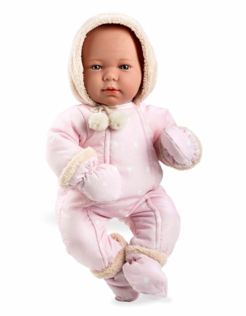 Купить MUNECAS ARIAS Пупс ARIAS , в розовой одежде с соской, 45 см [Т11110], Винил, текстиль, Для девочек, Испания, Куклы и пупсы