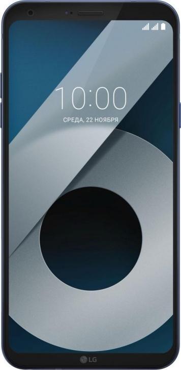 Смартфон LG Q6 M700AN 64Gb (LGM700AN.A4ISKU) синий