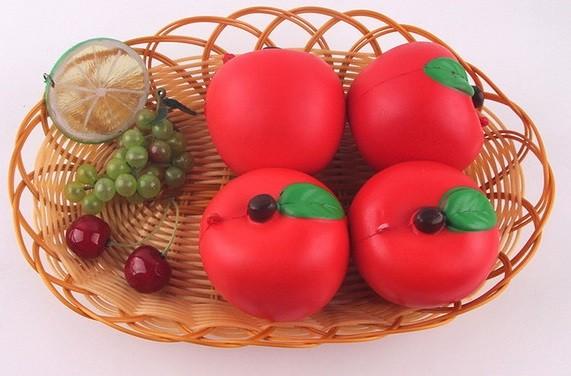 Купить JUNFA TOYS Мягкая игрушка-антистресс Яблоко , 7 см [SQ-31], Для мальчиков и девочек, Игрушки-антистресс