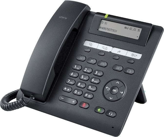 VoIP-телефон  Unify (Siemens) OpenScape CP200 Black (L30250-F600-C426).