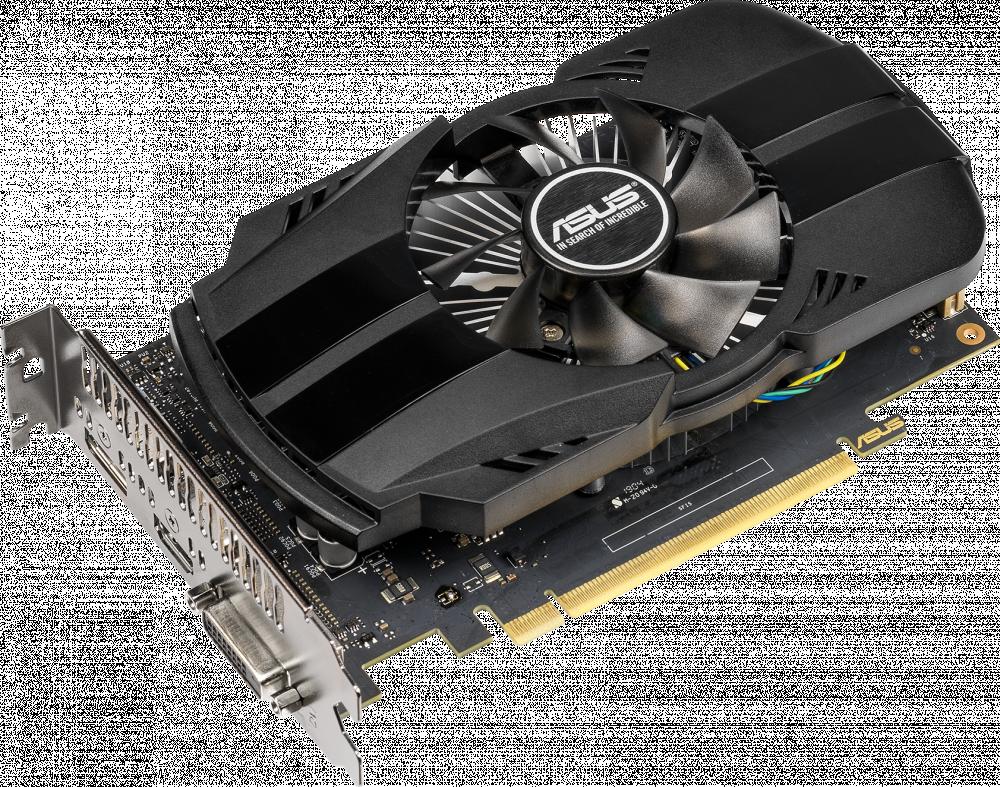 Видеокарта 4 Гб Asus NVIDIA GeForce GTX 1650 Phoenix OC (PH-GTX1650-O4G) фото