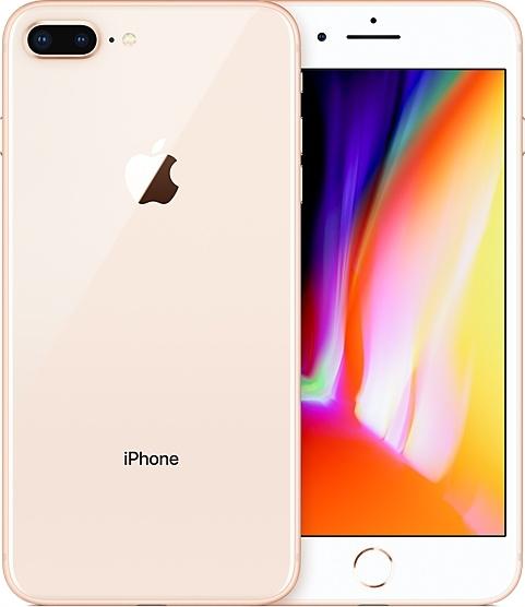 Смартфон Apple iPhone 8 Plus 256Gb (MQ8R2RU/A) Gold