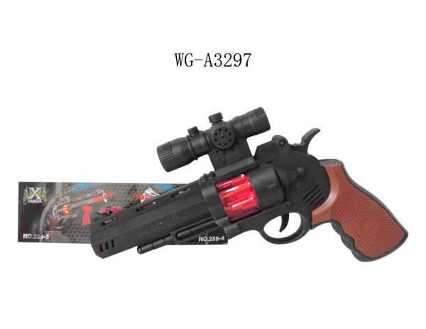 Купить JUNFA TOYS Пистолет со световыми и звуковыми эффектами, 27x20x5 см [239-3], Игрушечное оружие и бластеры