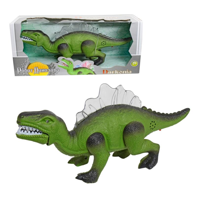 Купить 1 TOY Darkonia Робот динозавр, движ., свет., звук.эфф., 31x15x10 см [Т59093], Для мальчиков, Игрушечные роботы и трансформеры