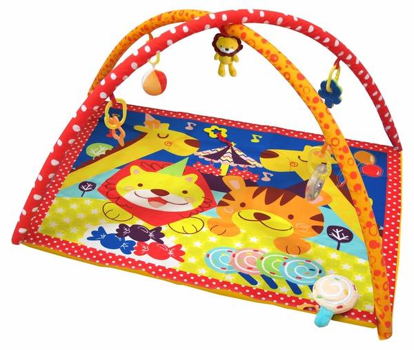 Купить MERX Развивающий игровой коврик Цирк [MXR0078], Развивающие игрушки для малышей