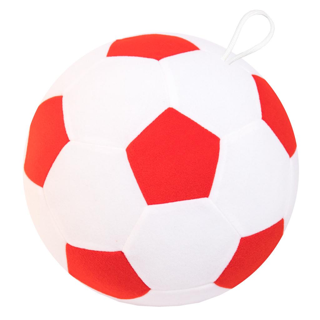 Купить МЯКИШИ Футбольный мяч Мякиши № 7 [445], ткань, трикотаж, холлофайбер, Для мальчиков и девочек, Игрушки-антистресс