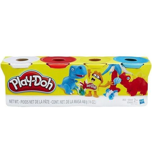Купить Набор пластилина Play-Doh, 4 баночки в наборе, B5517 [1002554], Пластилин и масса для лепки