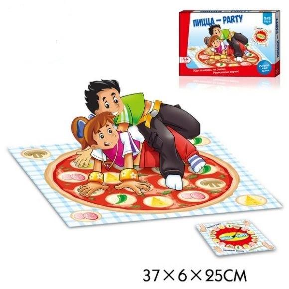 Купить НАША ИГРУШКА Подвижная игра Твистер Пицца Party [200153792], Спортивные игры и игрушки для улицы