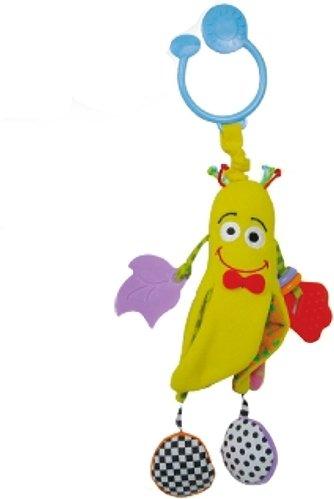 Купить BIBA TOYS Развивающая игрушка-подвеска БАНАН 33x15 см [GD001], Подвески для малышей